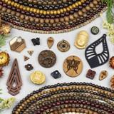 Wooden Beads & Focals