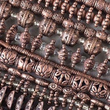 Pewter Beads - Vintage Copper