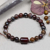 Pietersite Elastic Bracelet