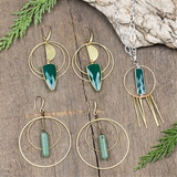 Forest and Brass Jewelry Collection