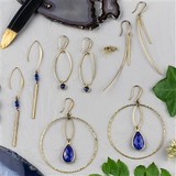 Brass and Sea Earring Collection