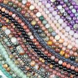 Round Gemstone Beads