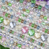 Spring Mix Crystal Beads