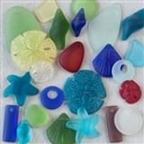 Matte Glass (Sea Glass Style) Pendant Mixes