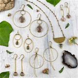 Brass and Earth Jewelry Collection