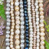 Large Hole Pearls