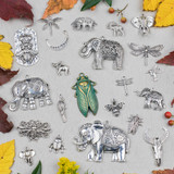New and Restocked Pewter Charms and Focal Pieces