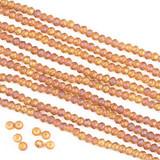 Crystal 2x3mm Rondelles - 15 inch strands