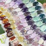 Gemstone Tablet Beads