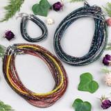 Crystal Mesh Necklaces & Bracelets