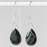 Interchangeable Kambaba Jasper Earrings