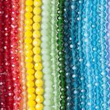 Large Hole Crystal Beads