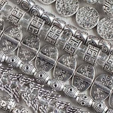 Pewter Beads - Silver