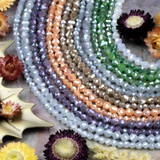 Crystal Star Cut Beads
