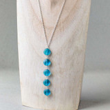 Sea Glass Coin Necklace
