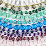 Indian Hand Cut Faceted Gemstones