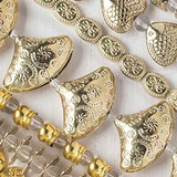Pewter Beads - Gold