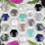 New Hexagon Pendant Drops