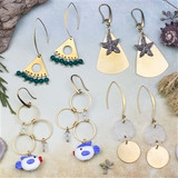 Seascape Earring Collection