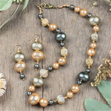 Canopy Shell Pearl Jewelry Set