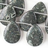 African Green Grey Brecciated Jasper