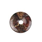 Gemstone Donut Pendants