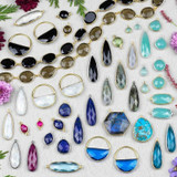 Gemstone Drops, Links & Chain