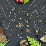 New & Restocked Brass Findings