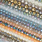 Crystal Orbits Round Beads