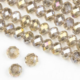 Crystal 6x8-8x10mm Rondelles - 15 inch strands