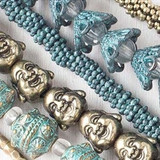 Pewter Beads - Bronze