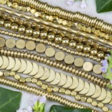 Raw and Plated Brass Beads