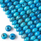 Large Hole Blue Crazy Lace Agate