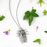 Cicada Charm Necklace