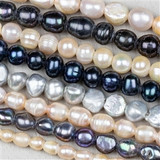 Large Hole Fresh Water Pearls