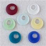 Matte Glass (Sea Glass Style) Go-Go Pendants