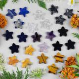 New Gemstone Star Pendants