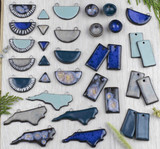 Ceramic Focals by Jenny Webb Handmade