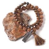 Rudraksha Stacking Bracelets