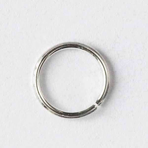 Silver Pewter 6mm Open Jump Rings - 50 per bag - baseajmprg6s