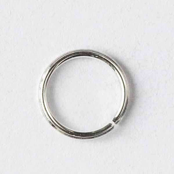 Silver Pewter 6mm Open Jump Rings - 100 per bag - baseajmprg6s-100