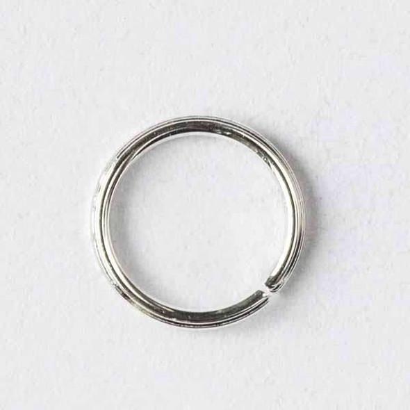 Silver Pewter 6mm Open Jump Rings - 100 per bag - baseajmprg6s-100