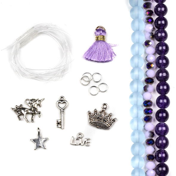 Unicorn Stretch Bracelets Kid Kit - bkit-09