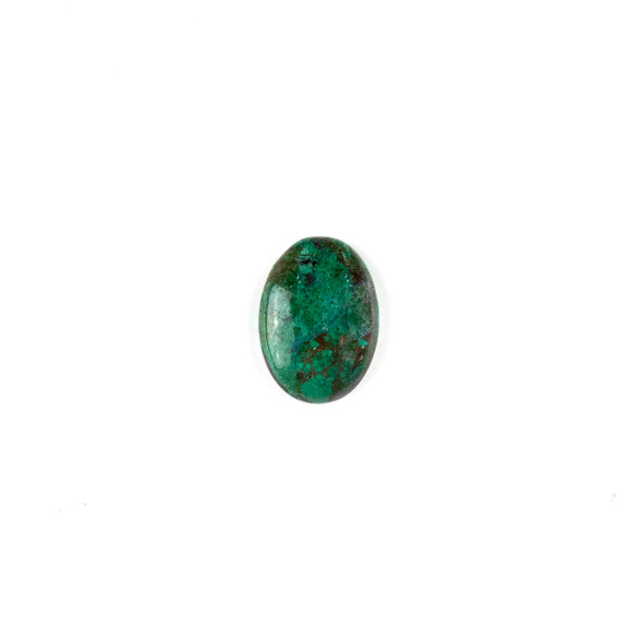 Chrysocolla 13x18mm Oval Cabochon - 1 per bag
