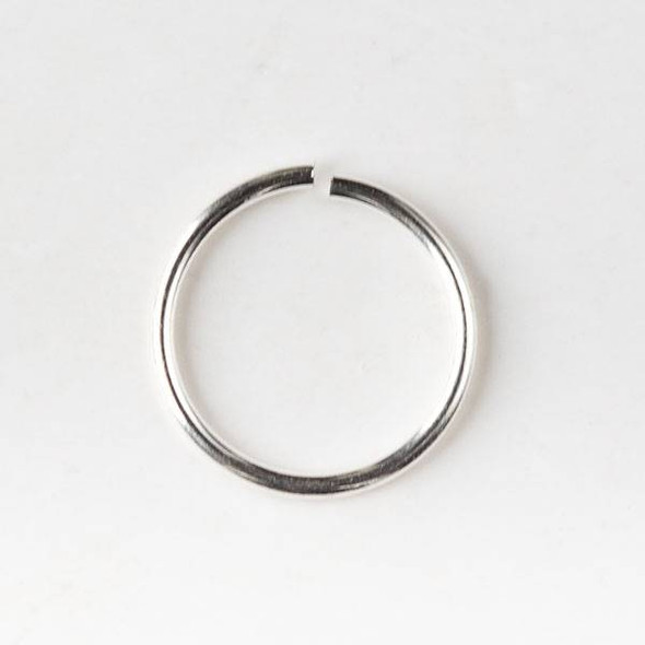 Silver Pewter 10mm Open Jump Rings - 20 gauge - 20 grams/approx. 100 per bag - CTB-20gopenrg10s