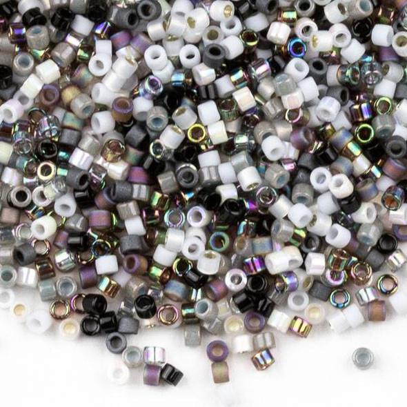 Miyuki 11/0 Pebblestone Mix Delica Seed Beads - #MIX13, 7 gram tube