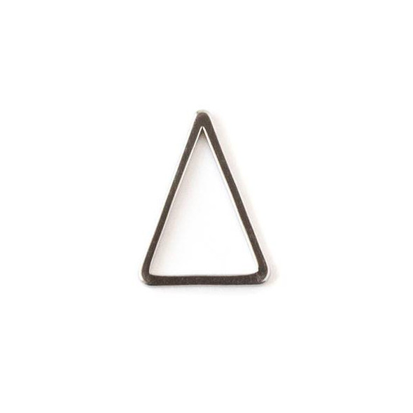 Gun Metal Colored Brass 12x15 Triangle Link - 6 per bag - ES7822gm