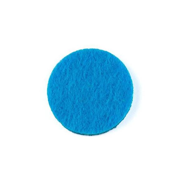 Blue 3x22mm Felt Oil Diffuser Pads - 3 per bag