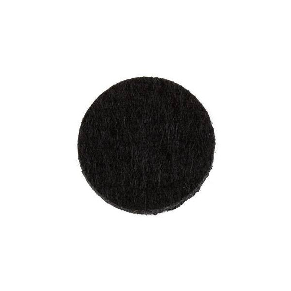 Black 3x22mm Felt Oil Diffuser Pads - 3 per bag