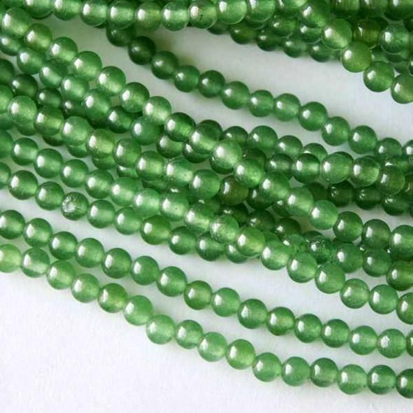 Green Aventurine 4mm Rounds - 16 inch strand